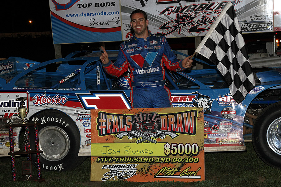 Josh Richards wins the FALS Draw Showdown!