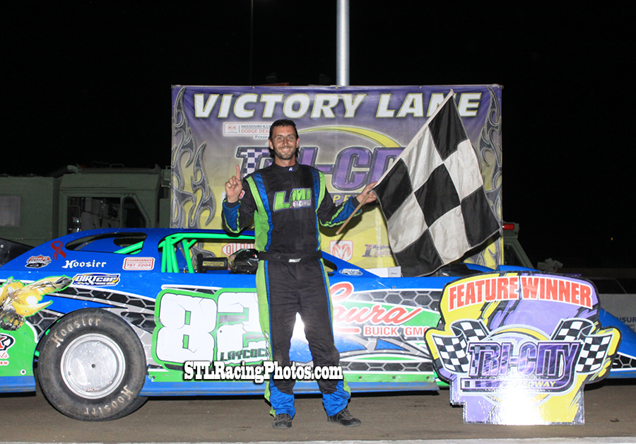 Billy Laycock, Michael Long, Robbie Eilers, A.J. Cline & Rickey Carriker take wins at Tri-City Speedway!