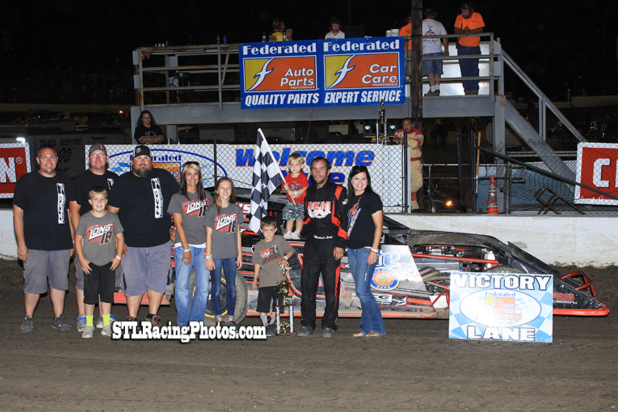 Michael Long takes Modified win at Federated Auto Parts Raceway at I-55's Ironman!