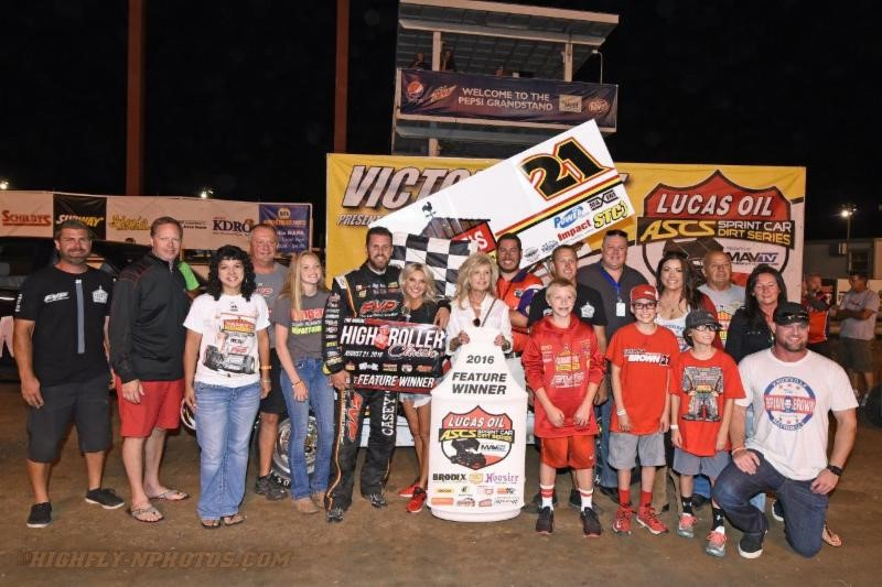 Brian Brown Pockets $15,000 To Win Lucas Oil ASCS High Roller Classic at Sedalia