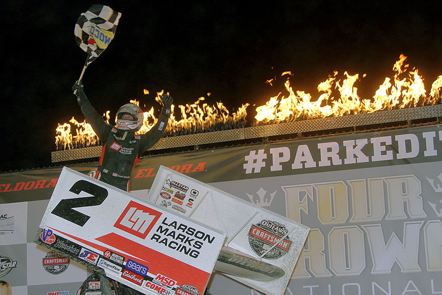 Stewart Walks Tall At Eldora