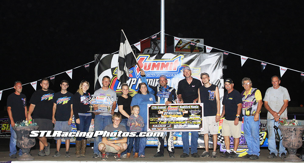 Mike Harrison takes night two of Mod Mania at Tri-City Speedway!