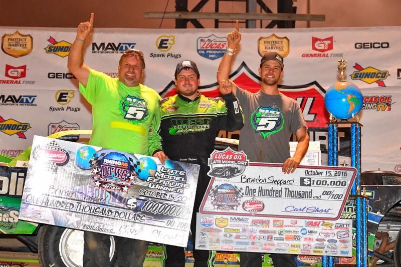 Brandon Sheppard Sensational in Rhino Ag Dirt Track World Championship