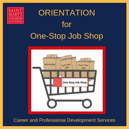 Students Prepare for the One-Stop Job Shop Spring Hiring Event by