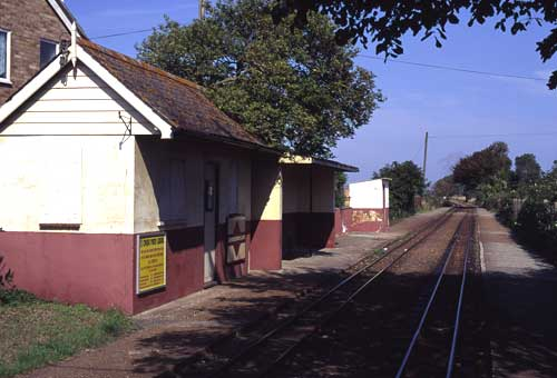 St Mary's Bay station in 2000.