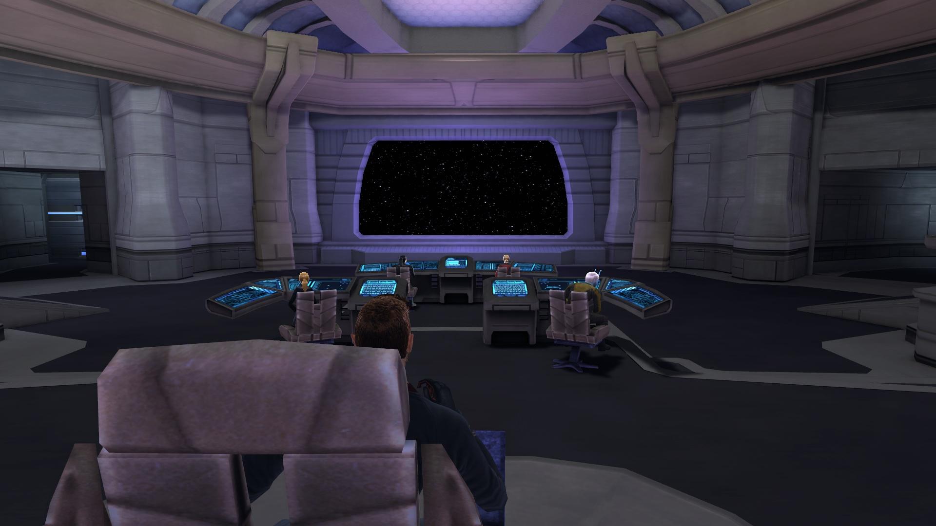 Wallpaper Galaxy 3d Sto Wallpaper Star Trek Online Academy