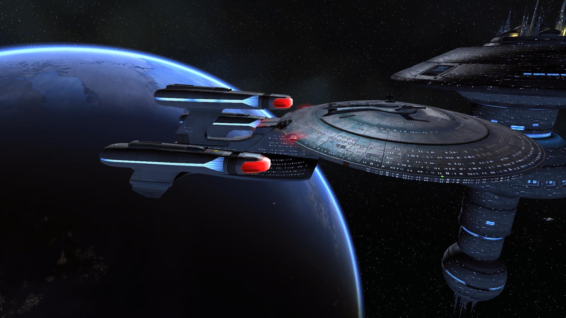 3d Wallpaper 1366x768 Hd Sto Wallpaper Star Trek Online Academy