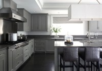 Light Gray Cabinets With Dark Countertops | www.resnooze.com