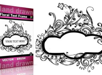 Floral_Text_Frame-Vol_1