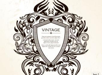 vintage-heraldic-shield-floral-ornament-vector-illustrator-photoshop-brushes-set-2