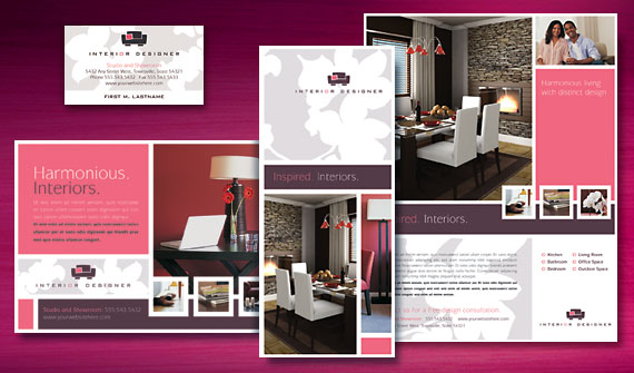 Free Consultation  One Stop Service for Design Consultation - interior design brochure template