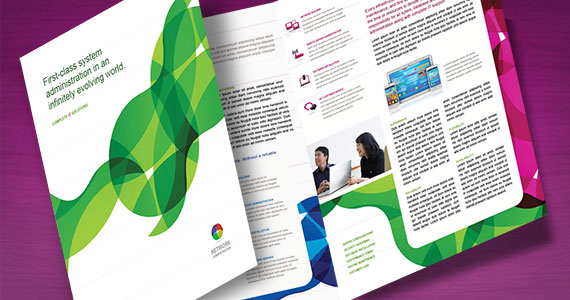 How to Create an 11 x 255 Large Format Tri-Fold Brochure - create tri fold brochure