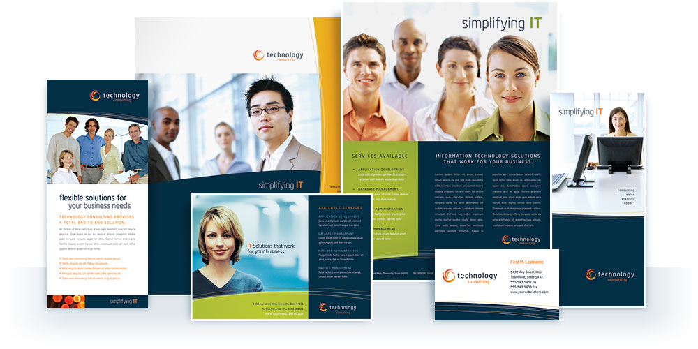 Free Sample Business Marketing Templates from StockLayouts