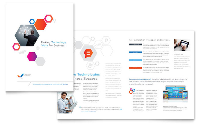 Free Brochure Templates Download Ready-Made Designs