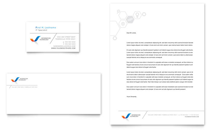 Free Stationery Templates Download Ready-Made Designs - free company letterhead