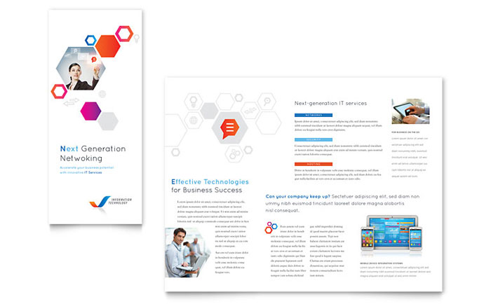Free Tri-Fold Brochure Templates Download Ready-Made Designs - Tri Fold Brochures Free