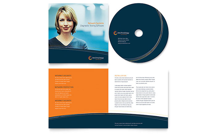 Free CD Booklet Templates CD Booklet Examples - booklet template word