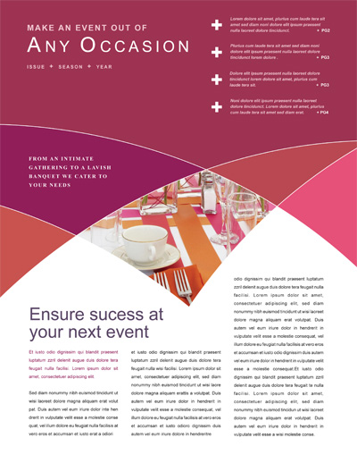 Be Inspired! Create a Unique Newsletter from a Template