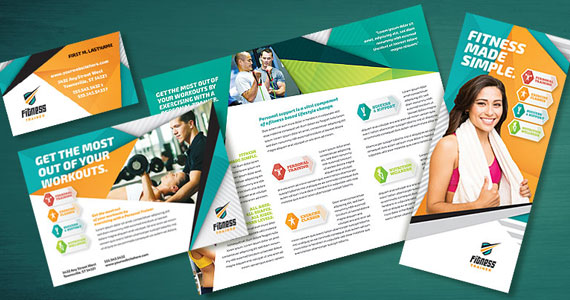 health and fitness flyer templates - Fitness Brochure
