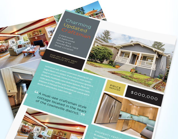 real estate flyers u2013 StockLayouts Blog - contemporary flyer