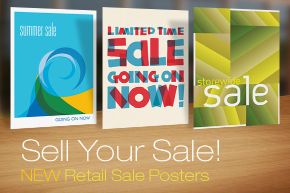 Sell your sale with professional poster designs - sale poster design