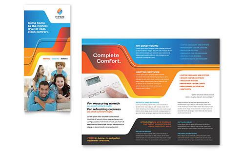 Tri-Fold Brochure Templates - InDesign, Illustrator, Publisher - microsoft word tri fold brochure