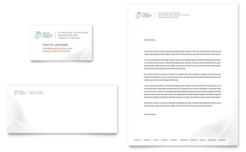 International Letterhead Templates Professional Services - professional letterhead