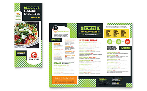 Restaurant Menu Templates Menu Layouts Food Menus