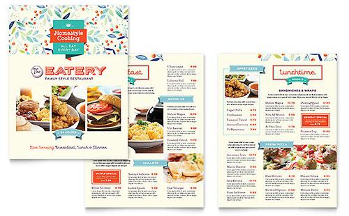 Free Restaurant Menu Templates Download Ready-Made Designs
