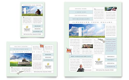 Mortgage Lenders Postcard Template Design - mortgage templates