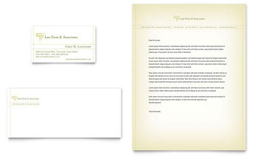 Attorney Letterheads Templates  Graphic Designs