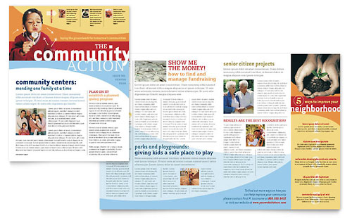 Education \ Training Newsletters Templates \ Designs - news letter formats