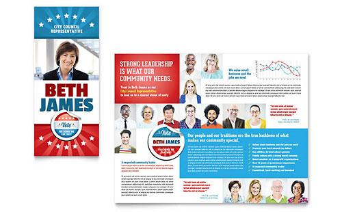 Tri-Fold Brochure Templates Letter Size Brochure Designs  Layouts