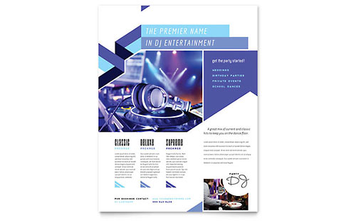 Wedding  Event Planning Flyer Templates  Design Examples