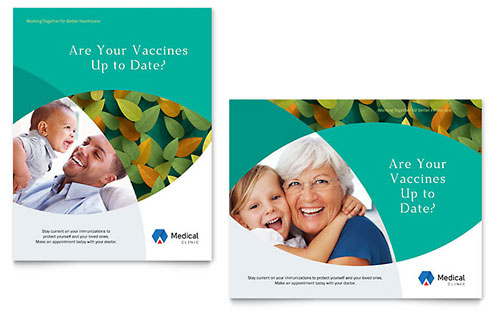 Medical  Health Care Posters Templates  Design Examples