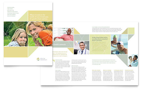 Insurance Marketing - Brochures, Flyers, Newsletters - insurance flyer templates