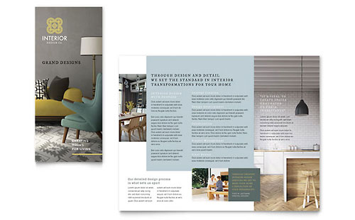 Architecture  Design Brochures Templates  Graphic Designs