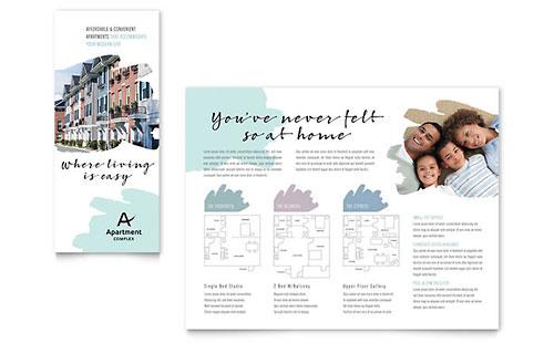 Hotel Brochure Template Design