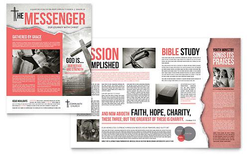 Newsletter Templates - InDesign, Illustrator, Publisher, Word - microsoft word newsletter templates free download
