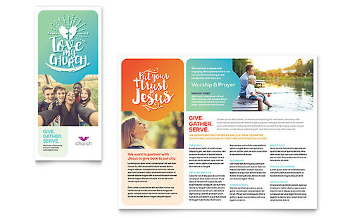 Church Marketing - Brochures, Flyers, Newsletters, Postcards
