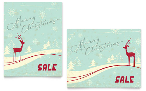 Christmas Posters Templates  Graphic Designs