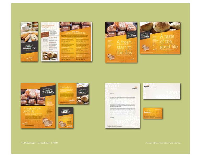 catalogue page template - Funfpandroid - brochure design idea example