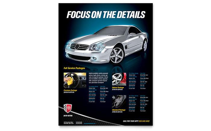 Car Wash Flyer Templates Automotive \ Transportation - car wash flyer template