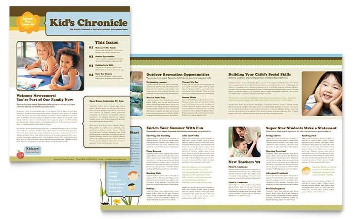 microsoft newsletter templates