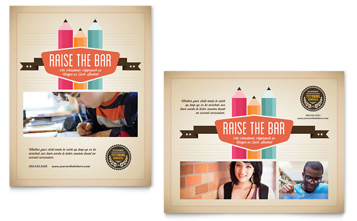 Education  Training Posters Templates  Design Examples - education poster template