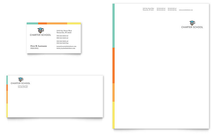 Letterhead Templates - InDesign, Illustrator, Publisher, Word, Pages