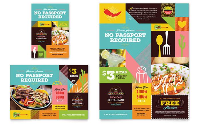 Free Brochure Templates And Brochure Samplesfree restaurant menu psd
