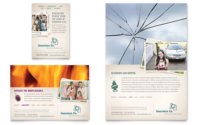 indesign postcard template