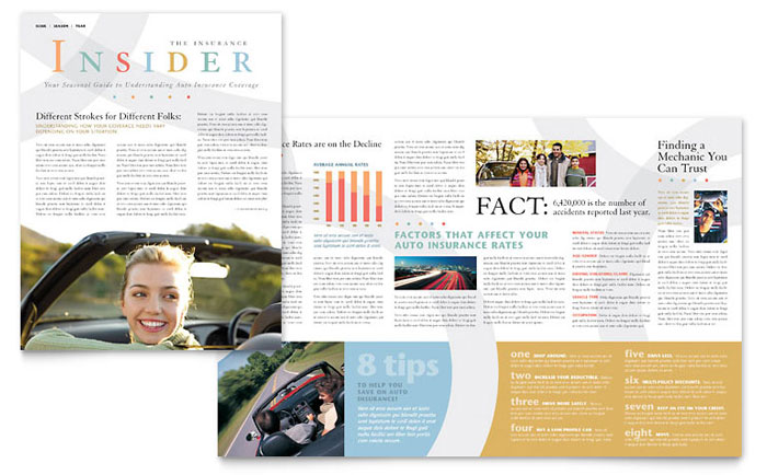 Automotive  Transportation Newsletters Templates  Design Examples - company newsletters examples