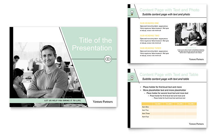 Business Consulting Presentations Templates  Graphic Designs - Consulting Presentation Templates